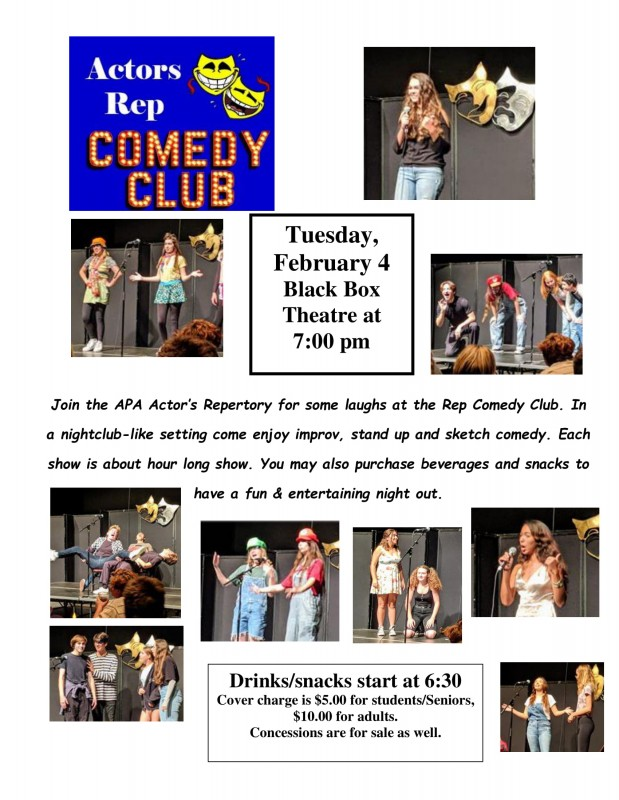 ACTOR'S REP COMEDY CLUB