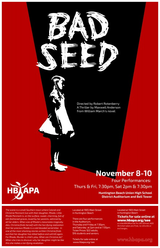 Bad Seed Cast List