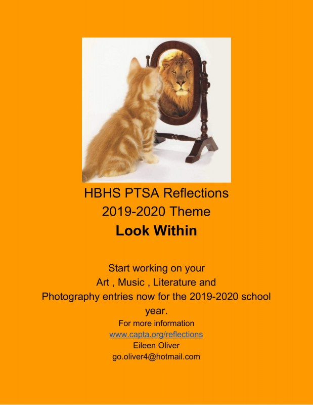 "PTSA ""Reflections"" Art Program - You can enter!"