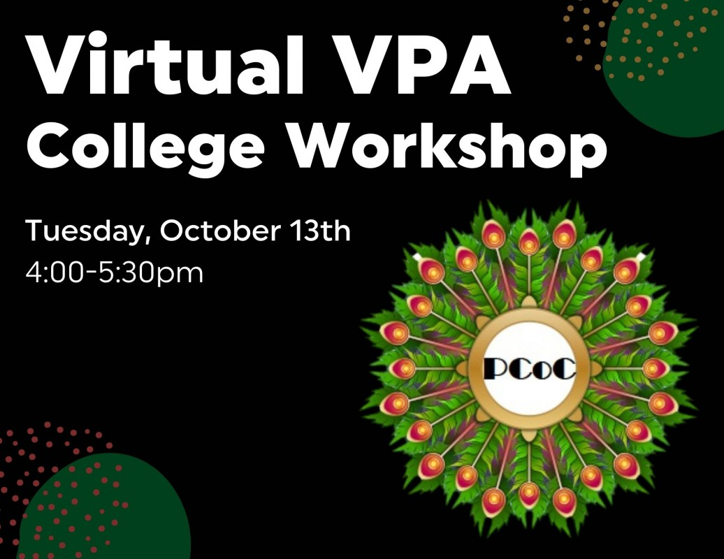 Virtual VPA College Workshop for Private Colleges of California