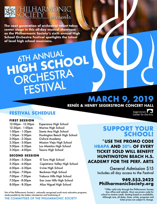 The 6th Annual High School Orchestra Festival