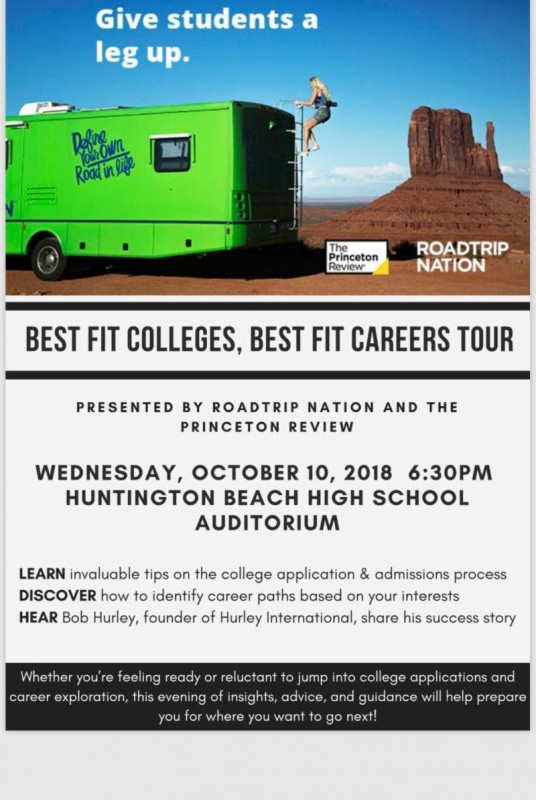 Best Fit Colleges, Best Fit Careers Tour