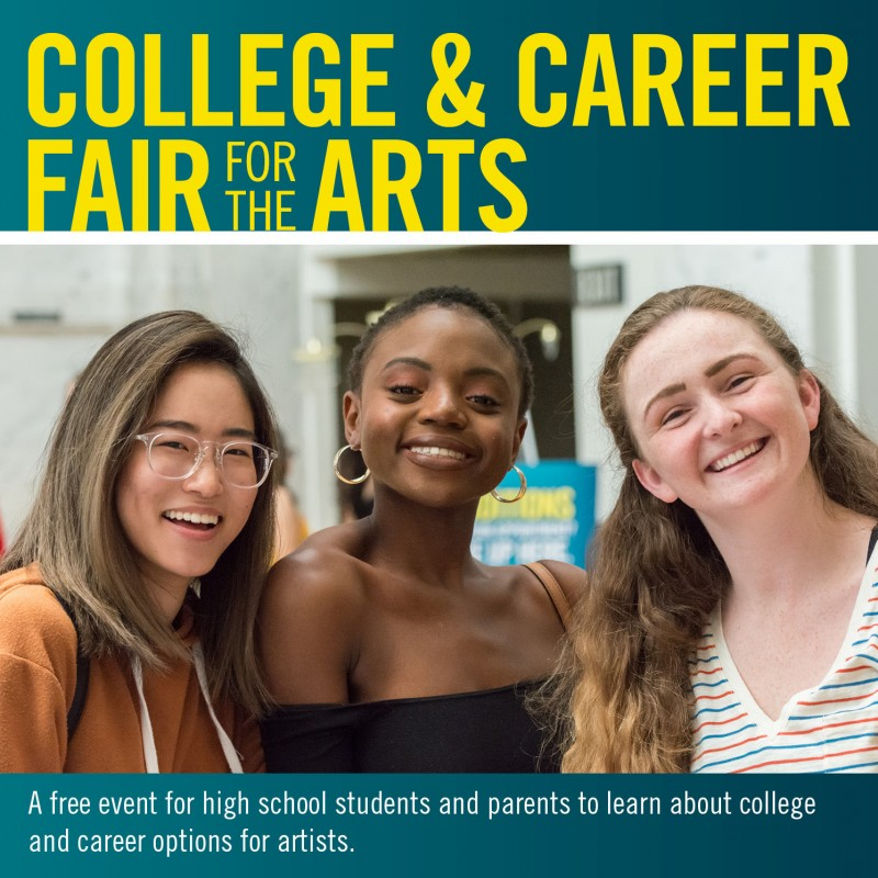 COLLEGE & CAREER FAIR FOR THE ARTS 2020