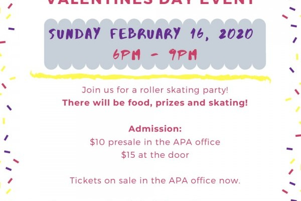 APA COUNCIL PRESENTS THE 2020 VALENTINE'S DAY EVENT