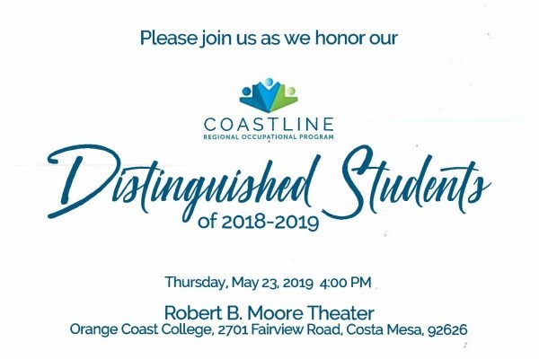 Coastline ROP Distinguished Students