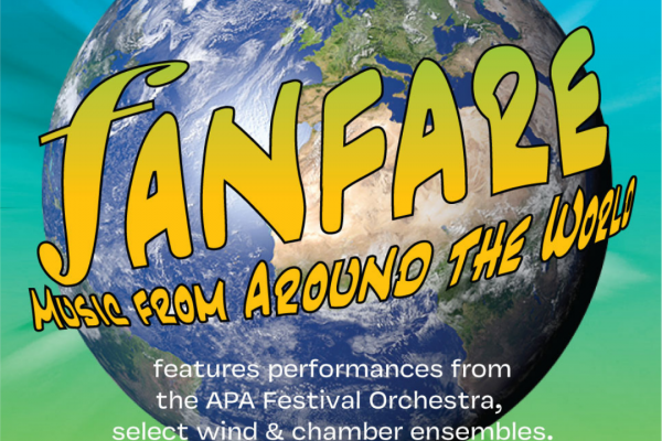 FANFARE - APA's LIVE Spring Music Concert on May 4th!